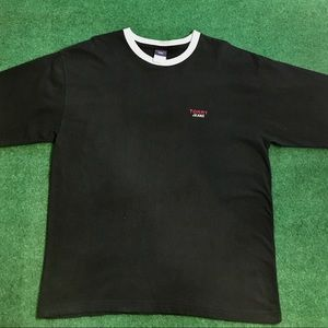 Vtg Tommy Jeans Spell Out T-Shirt